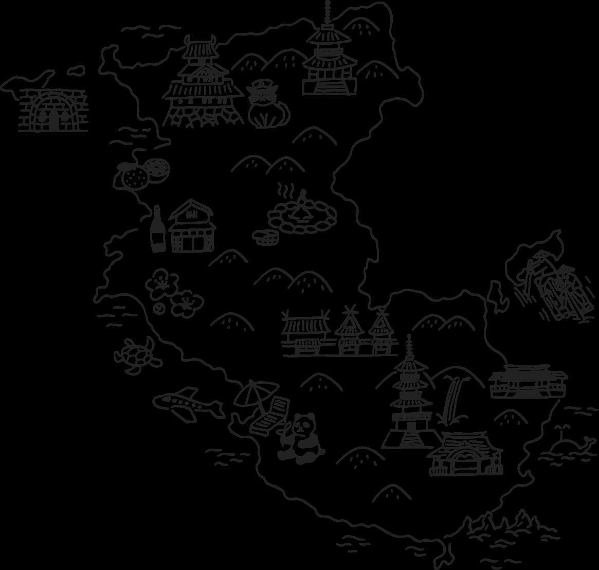 和歌山県MAP